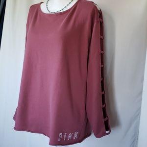 Pink brand Sweater. Size L